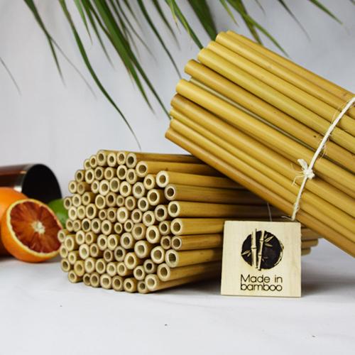 250 Pailles en bambou
